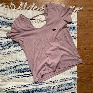 PINK Victoria secret ladder back T-shirt